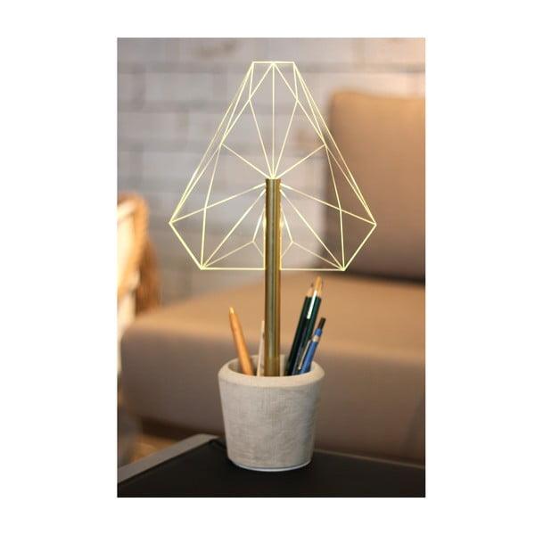 Náladové světlo s kalíškem na tužky Wired C