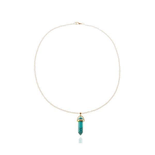 Dámský náhrdelník ve zlaté barvě NOMA Francesca