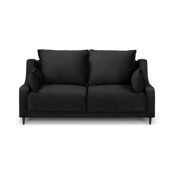 Canapea cu 2 locuri Mazzini Sofas Freesia, negru de la Mazzini Sofas