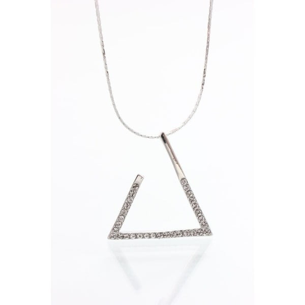 Náhrdelník se Swarovski krystaly Yasmine Triangle