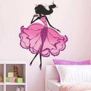 Samolepka na stěnu Princezna na bále, 90x120 cm