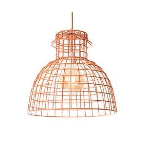 Oranžové závěsné svítidlo Look4Lamps Round Griller