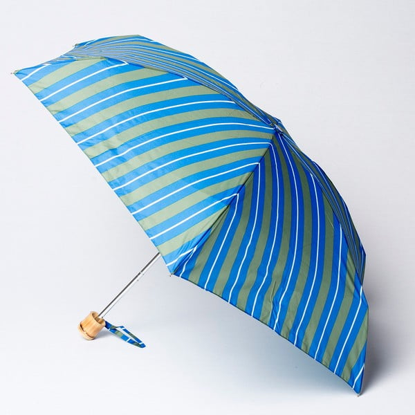 Skládací deštník Alvarez Stripe Green Blue