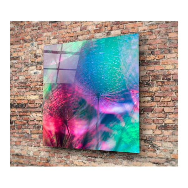 Tablou din sticlă Insigne Dieter, 40 x 40 cm
