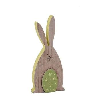 Decorațiune de agățat din lemn Ego Dekor Bunny, 9,5 x 20 cm imagine