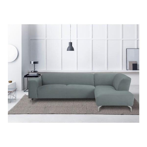 Šedá rohová pohovka Windsor & Co Sofas Orion pravý roh
