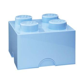 Cutie depozitare LEGO®, albastru deschis de la LEGO®
