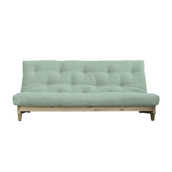 Sofa rozkładana Karup Design Fresh Natural Clear/Mint