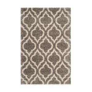 Šedohnědý koberec Safavieh Mati, 121 x 182cm