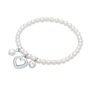 Perlový náramek Perldesse Maéva, délka 18 cm
