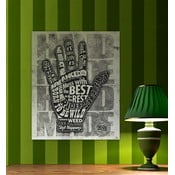 Cedule Hand, 56x45 cm