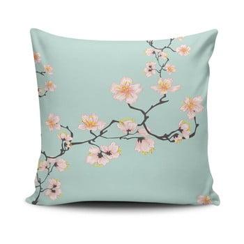 Față de pernă cu adaos de bumbac Cushion Love Pinkie Branch, 45 x 45 cm