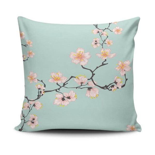 Povlak na polštář s příměsí bavlny Cushion Love Pinkie Branch, 45 x 45 cm