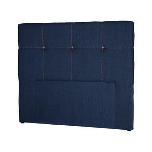 Tmavě modré čelo postele Stella Cadente Maison Cosmos, 140x118cm