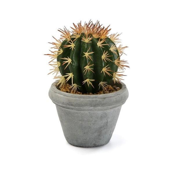 Sztuczny kaktus doniczce betonowej Versa Pot Home