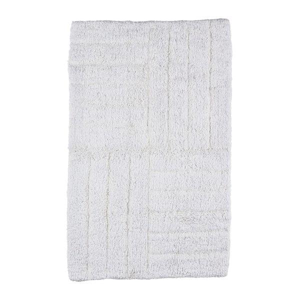 Bílá koupelnová předložka Zone Classic, 50x80cm