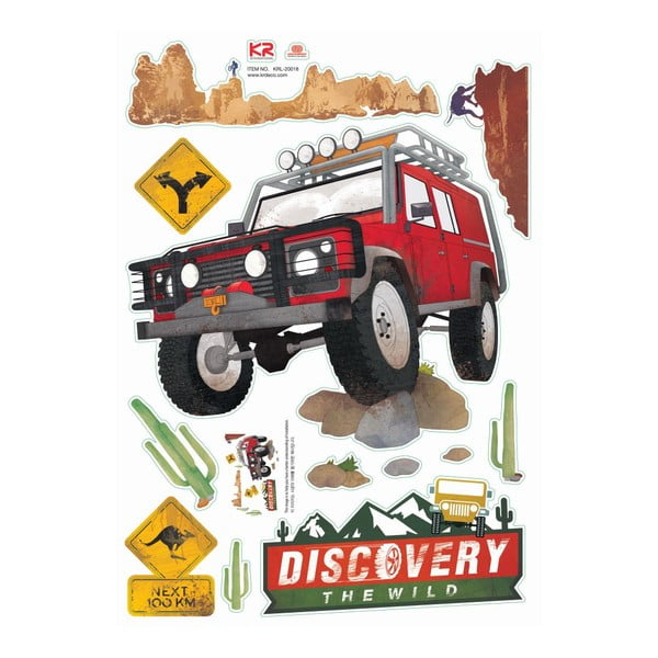 Samolepka Ambience Australian Road Trip
