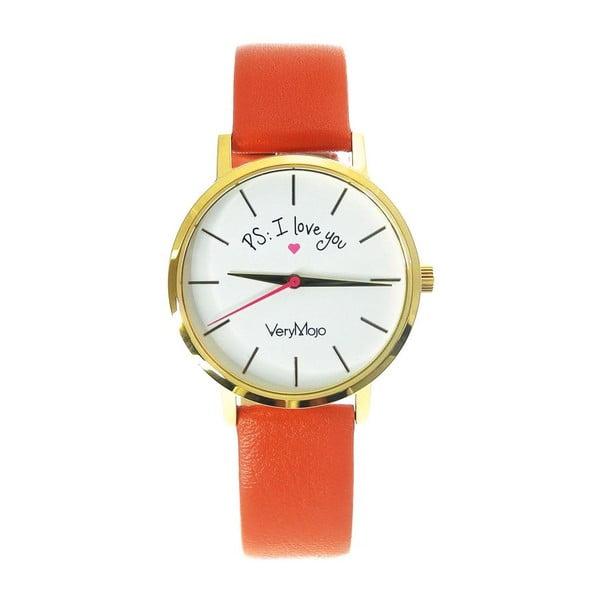Oranžové hodinky VeryMojo PS I Love You