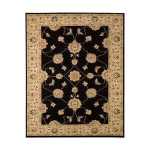 Černo-béžový koberec Schöngeist & Petersen Gemstone, 160 x 230 cm