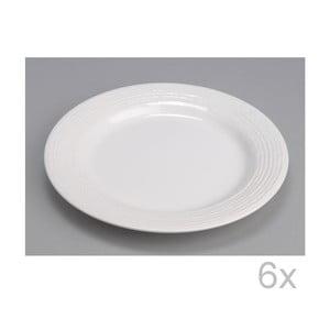 Talíř White 27 cm (6 ks)