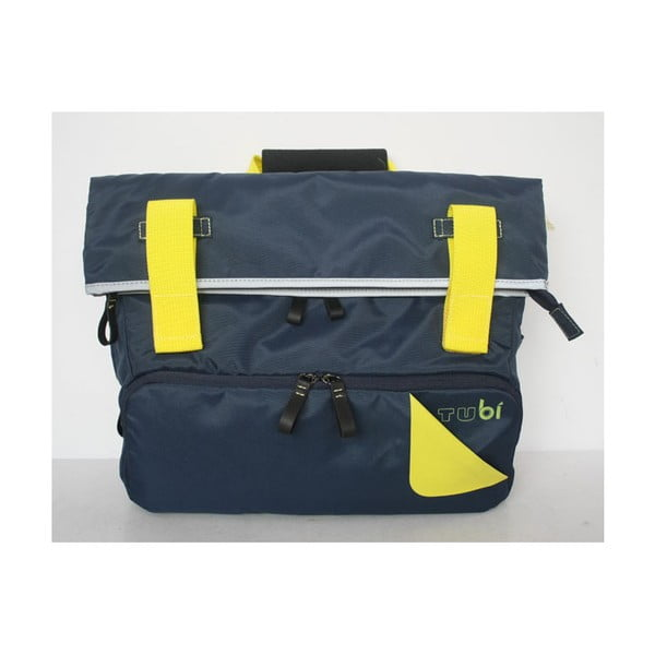 Taška/batoh Slim Case TUbí, modrá/žlutá