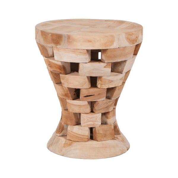 Stolička z týkového dřeva Magnar