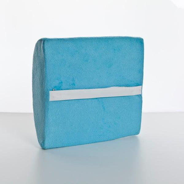 Polštář Visco Waist 26x40x9 cm, blue