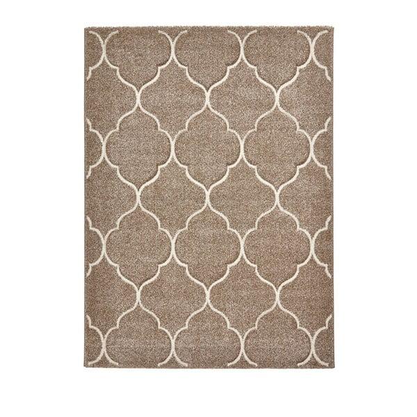 Béžový koberec Think Rugs Ventura, 120x170cm