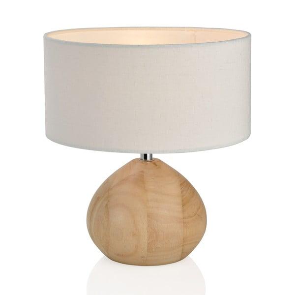 Dřevěná lampa Nature, bílá