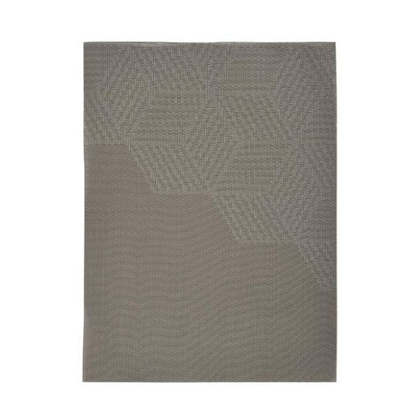 Hexagon barnásbézs tányéralátét, 30x40 cm - Zone