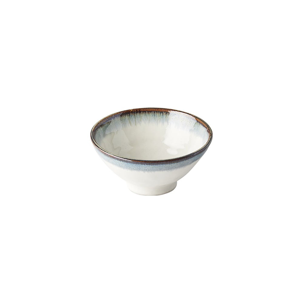 Bílá keramická polévková miska MIJ Aurora, ø 16 cm MIJ
