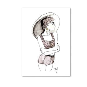 Plakát Leo La Douce Summervibes, 21x29,7cm