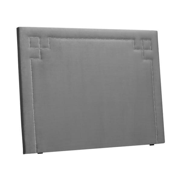 Světle šedé čelo postele THE CLASSIC LIVING Nicolas, 180 x 120 cm