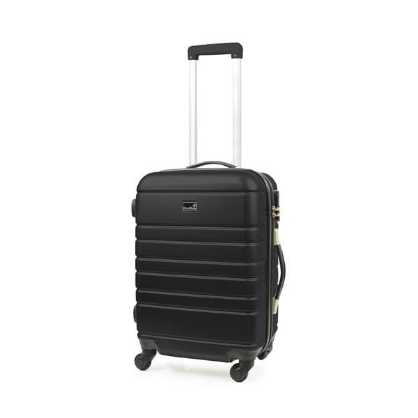 Set černého kufru a příručního zavazadla BlueStarManhattan
