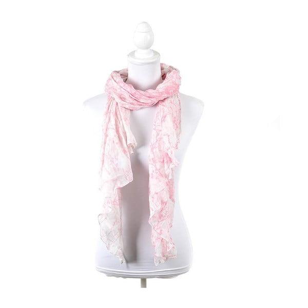 Šátek/pareo BLE Inart 100x180 cm, růžový