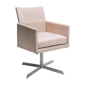 Krémová židle Kare Design Dialog