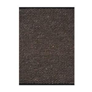 Vlněný koberec Nordic Anthracit, 140x200 cm