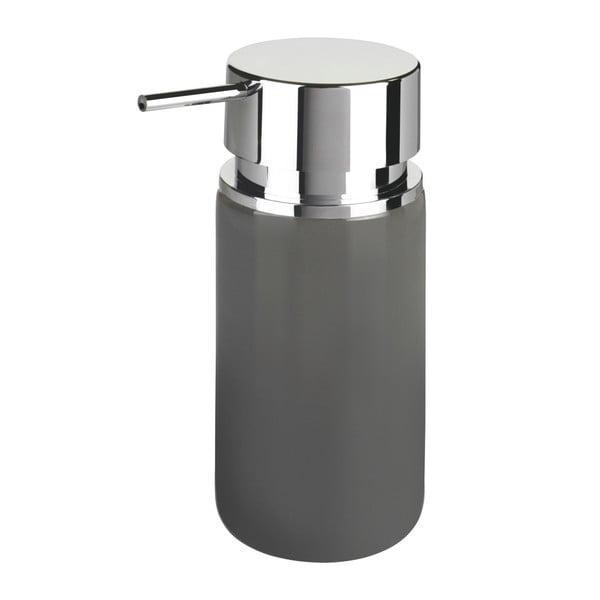 Šedý keramický dávkovač mýdla Wenko Soap, 250 ml