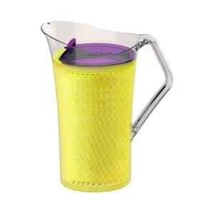 Žlutý plastový džbán Asobu Iceberg Pitcher, 1,478 l