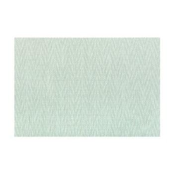 Suport pentru farfurie Tiseco Home Studio Chevron, 45 x 30 cm, verde de la Tiseco Home Studio