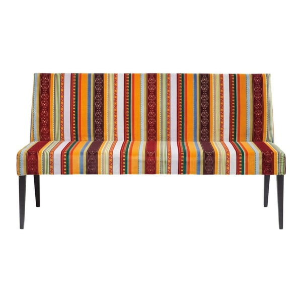 Pohovka s barevným bavlněným potahem Kare Design Very British, délka 162 cm