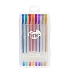 Set 8 pixuri cu gel parfumat în culori care sclipesc TINC Glitterarty