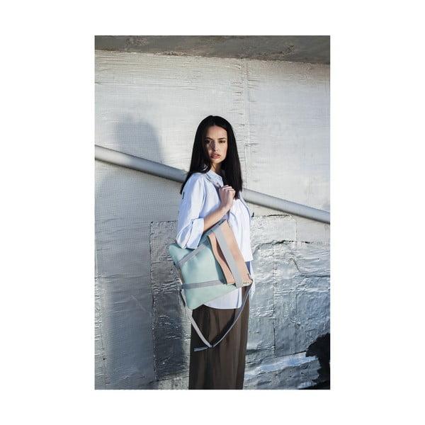 Kožený oboustranný batoh Maria Maleta Alba
