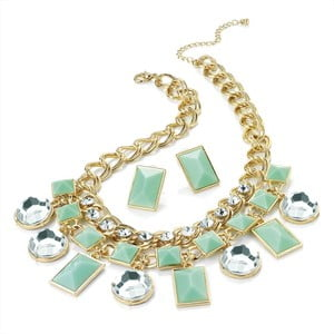 Set náhrdelník a náušnice Lily