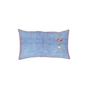 Polštář Embroidery Denim Blue 60x35 cm
