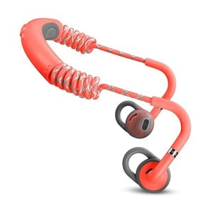 Červená bezdrátová Bluetooth sluchátka do uší Urbanears STADION Rush