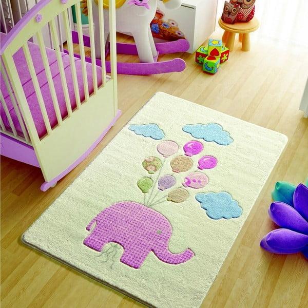 Dětský koberec Confetti Sweet Elephant, 100x150cm