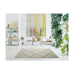 Bílý koberec Universal Kasbah White, 160 x 230 cm