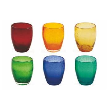 Set 6 pahare colorate Villa d'Este Rainbow, 280 ml de la Villa d'Este