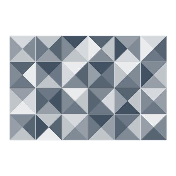 Zestaw 24 naklejek Ambiance Azulejos Shades, 15x15 cm